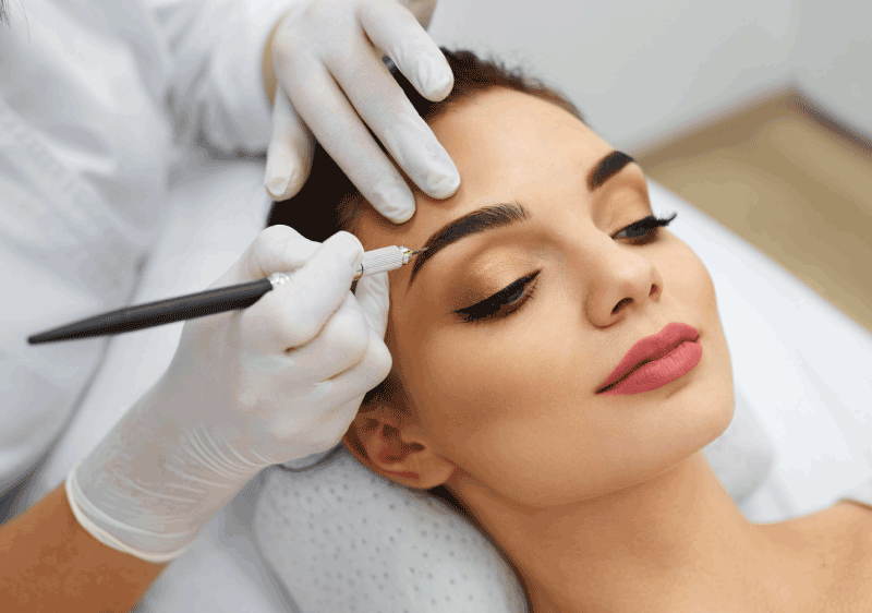 Microblading maquillage permanent 91