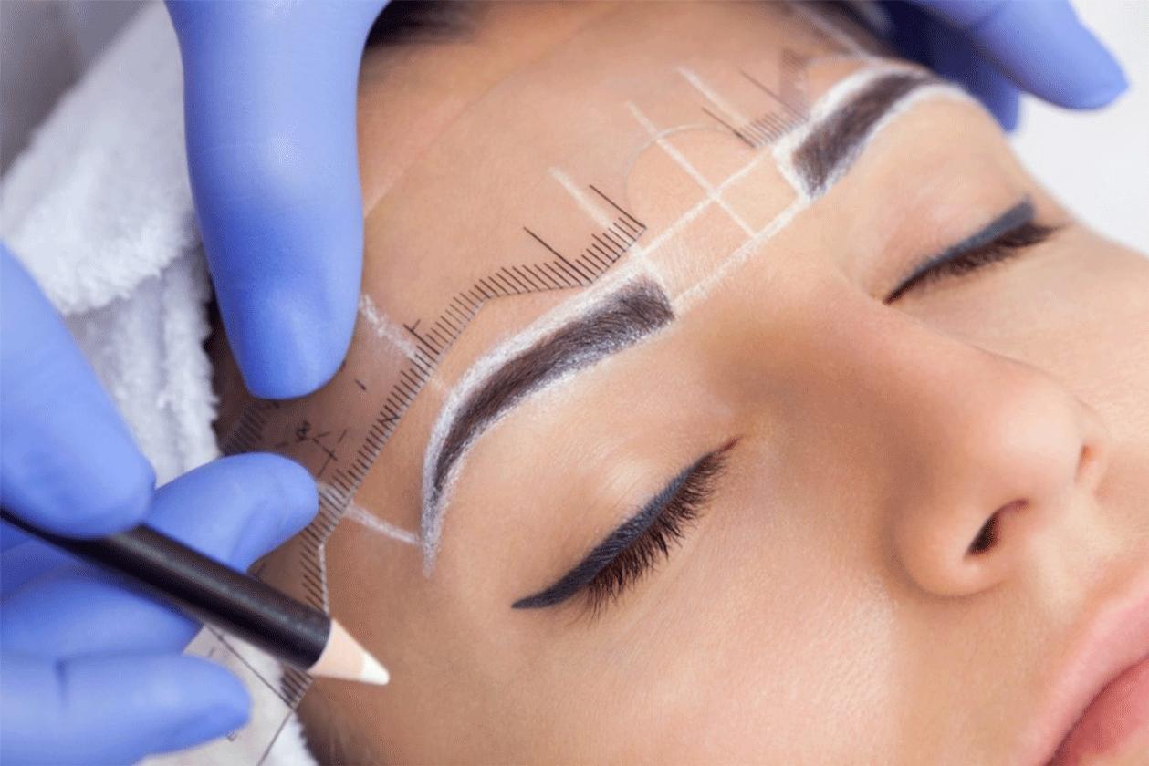Microblading miroshading eyebrows maquillage permanent 91